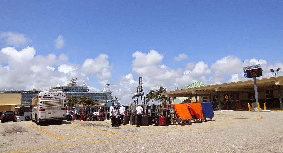 Kreuzfahrthafen in Fort Lauderdale