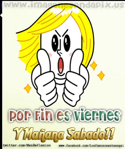 Imagenes Gif Imagenes Con Frases Por Fin Es Viernes