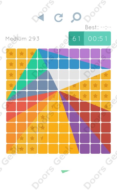 Cheats, Walkthrough for Blocks and Shapes Medium Level 293