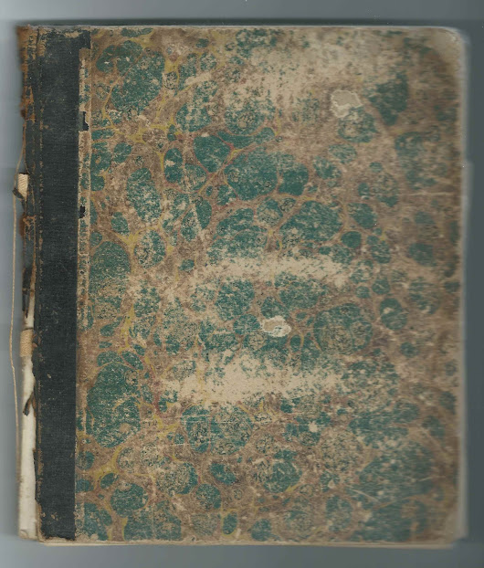 c1876 Journal with Names and Inscriptions of People who Attended Lynn Praying Band Meetings in Maine: Farmington, Waterville, Skowhegan, Winthrop & Bath