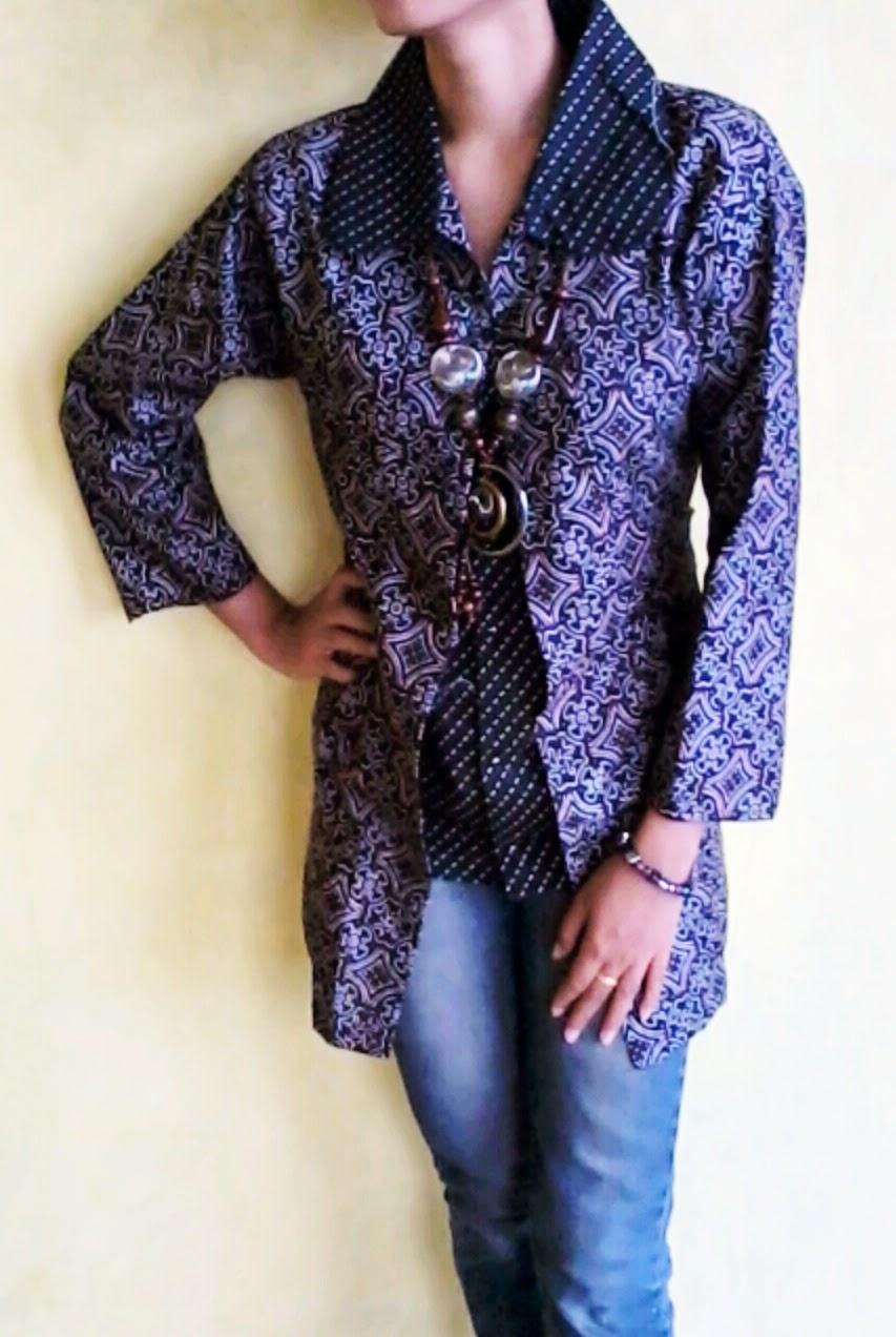 VIE blazer batik: Tips Memilih Baju Batik modern