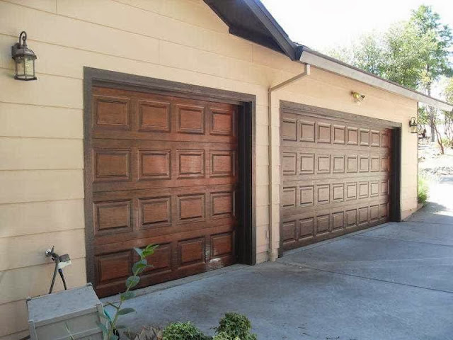 tips to paint wood garage door