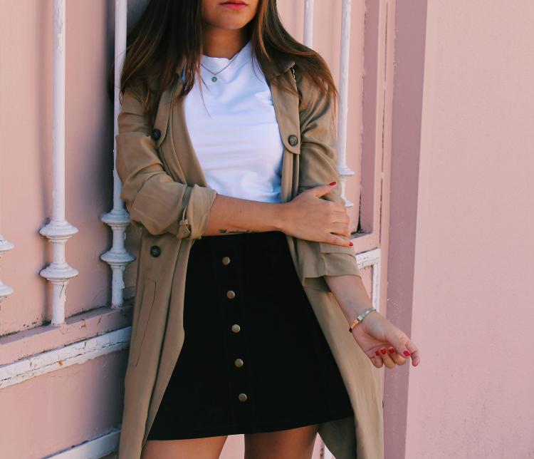 outfit entretiempo trench blog de moda leon