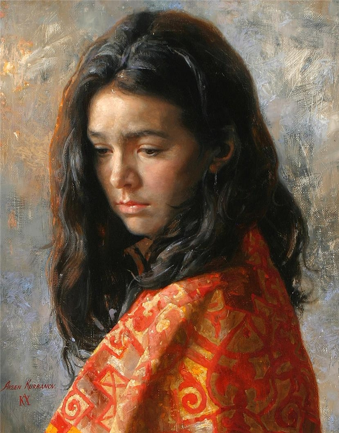 Arsen Kurbanov 1969 | Russian Portrait painter
