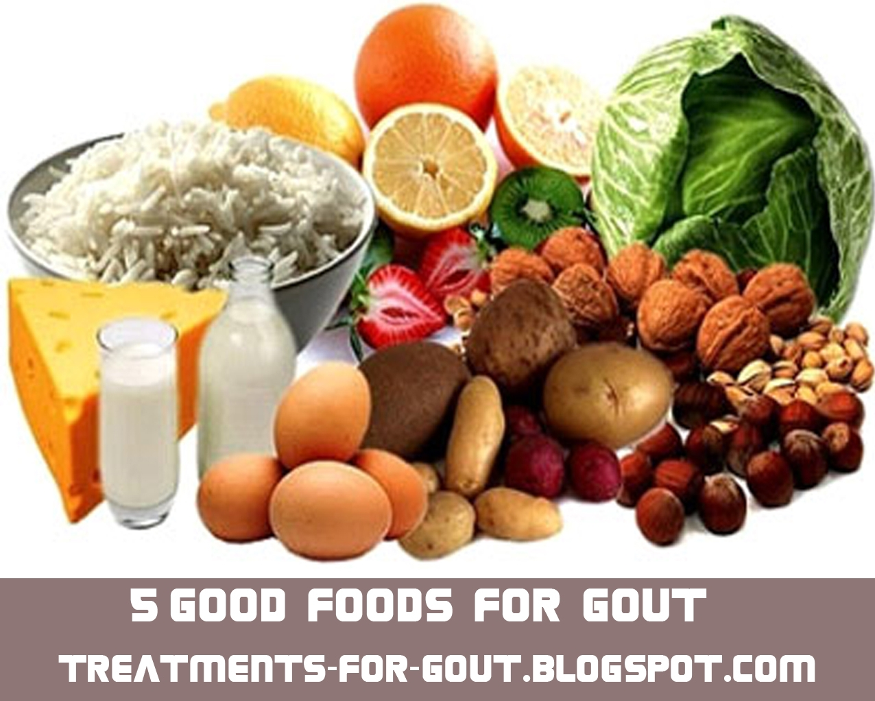 Good Foods To Eat For Gout