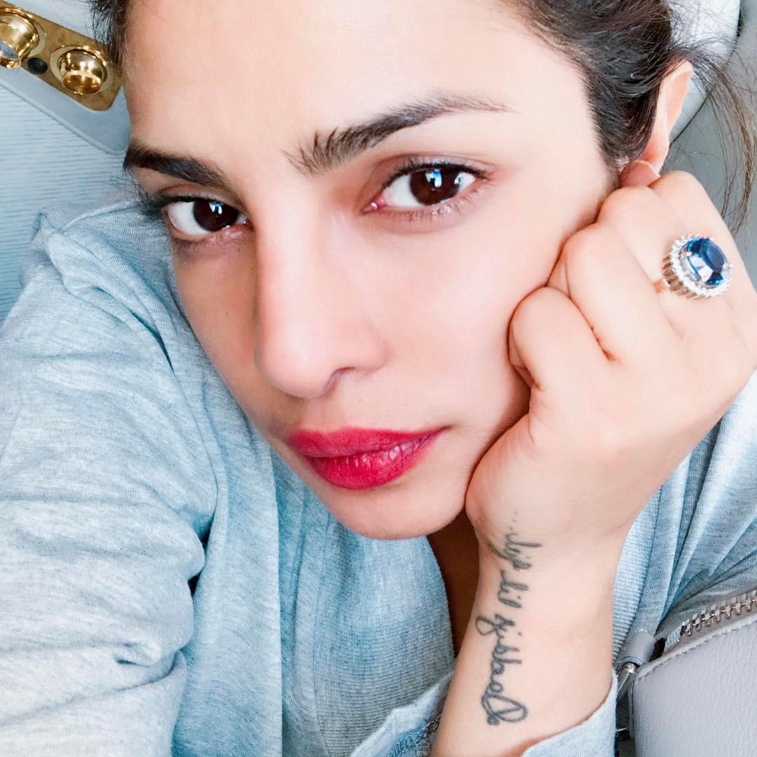 Priyanka Chopra -  too tired to smile