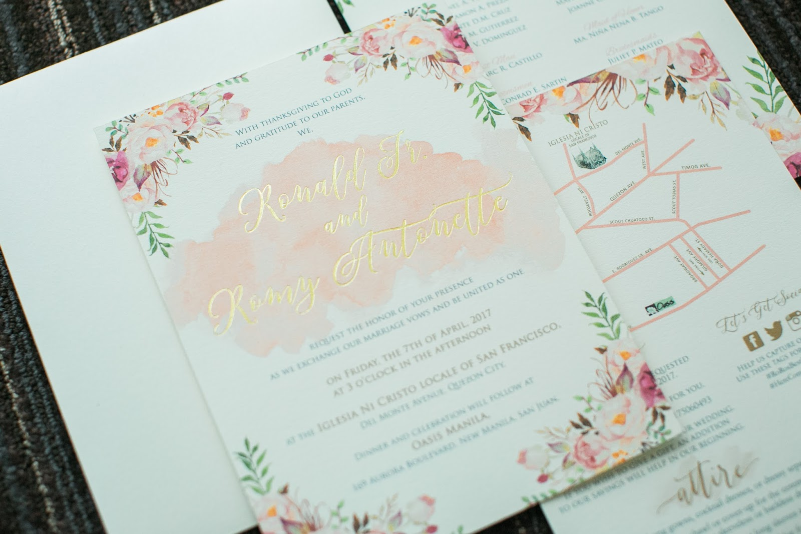 romyisagirl: Wedding Supplier Review: Our Invitations by Yanna\'s ...