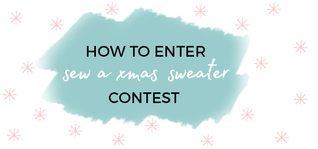 Tilly and the Buttons contest - Sew a Xmas Sweater!
