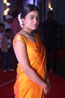 Shalini Pandey in Beautiful Orange Saree Sleeveless Blouse Choli ~  Exclusive Celebrities Galleries 039.JPG
