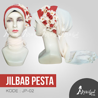 Jual Jilbab |   Jual Jilbab Pesta Online Alya Hijab   |   Jual Jilbab