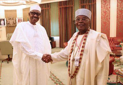 alake egbaland visit buhari
