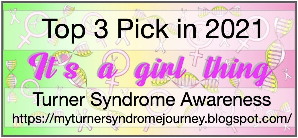 Turner Syndrome Awareness BLog Hop