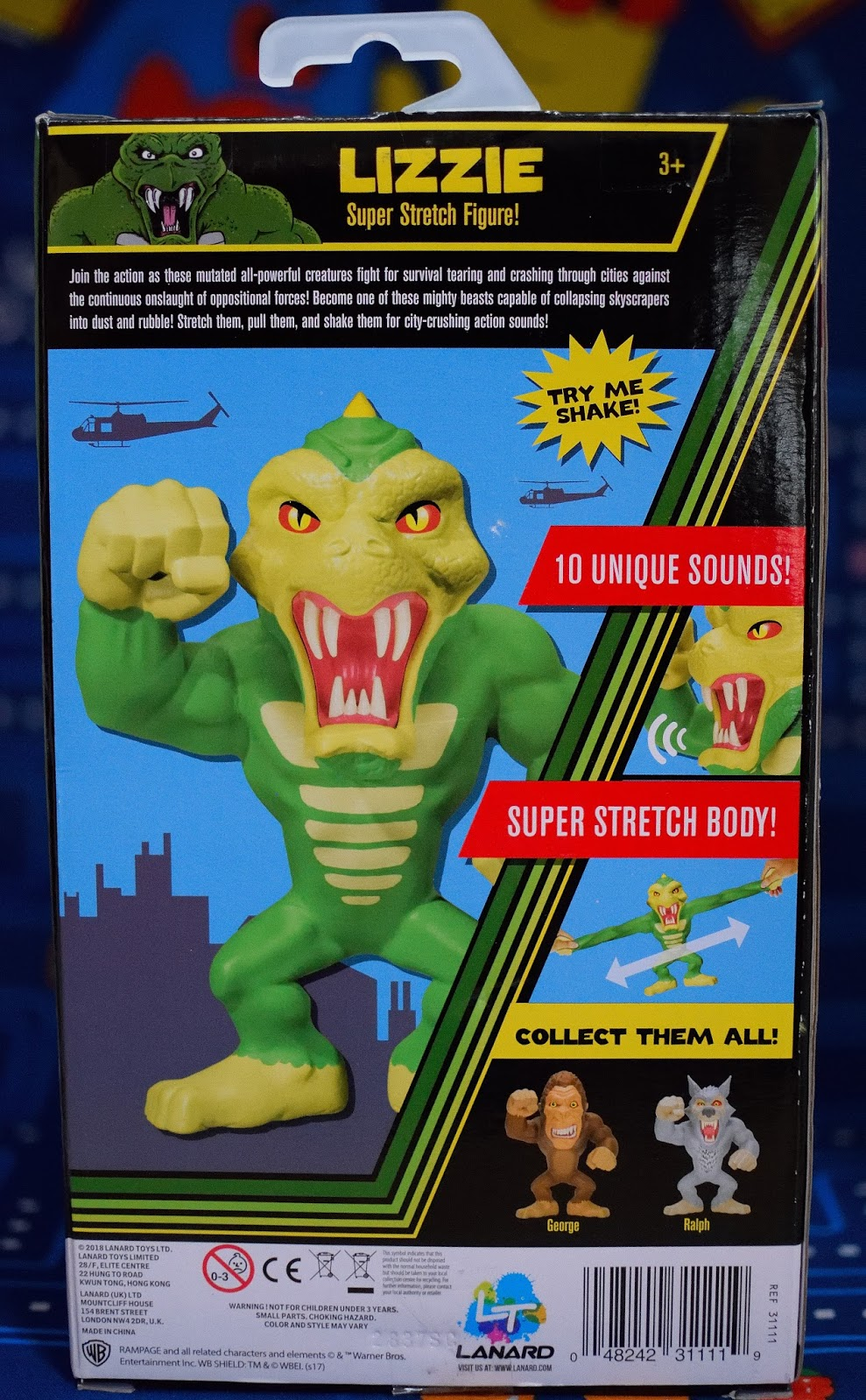 Arcade Hunters Rampage Super Stretch Figures