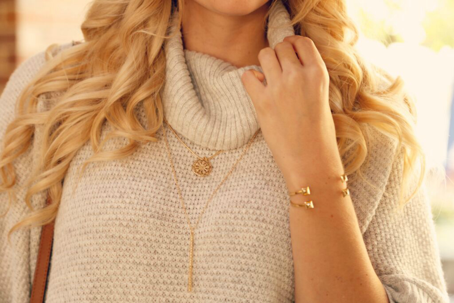 fall-trend-necklaces-over-cowl-neck-sweater