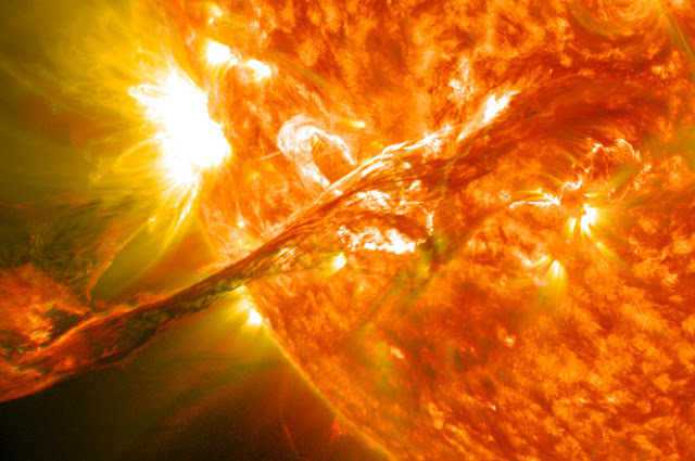 Solar Flare Nearly- Destroyed Earth & Nobody Knew