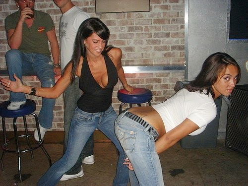 Sexy Drunk Party Girls