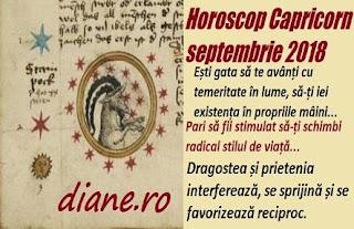 Horoscop septembrie 2018 Capricorn