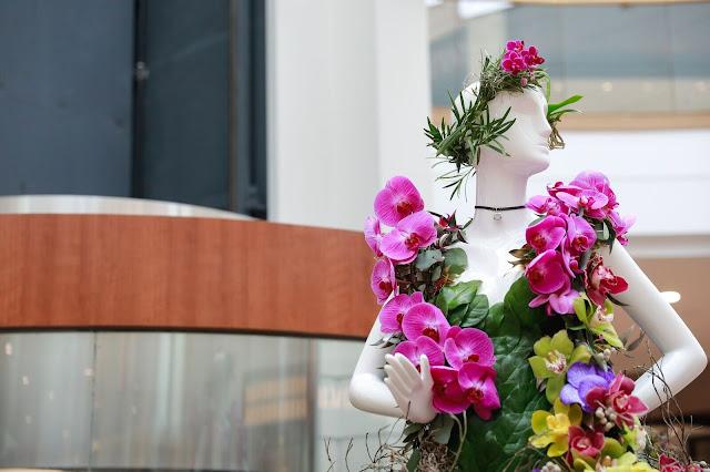exposition Fleurs de Villes Place Ste-Foy Québec