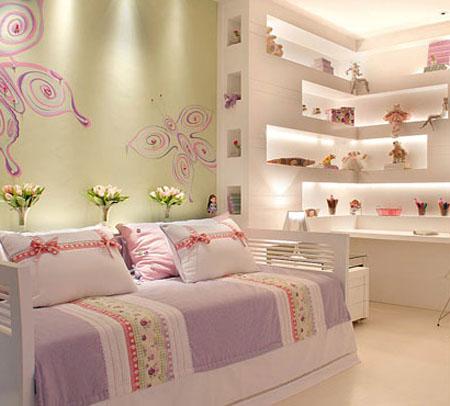 Cuartos de ni as quarto meninas for Dormitorio para 4 personas