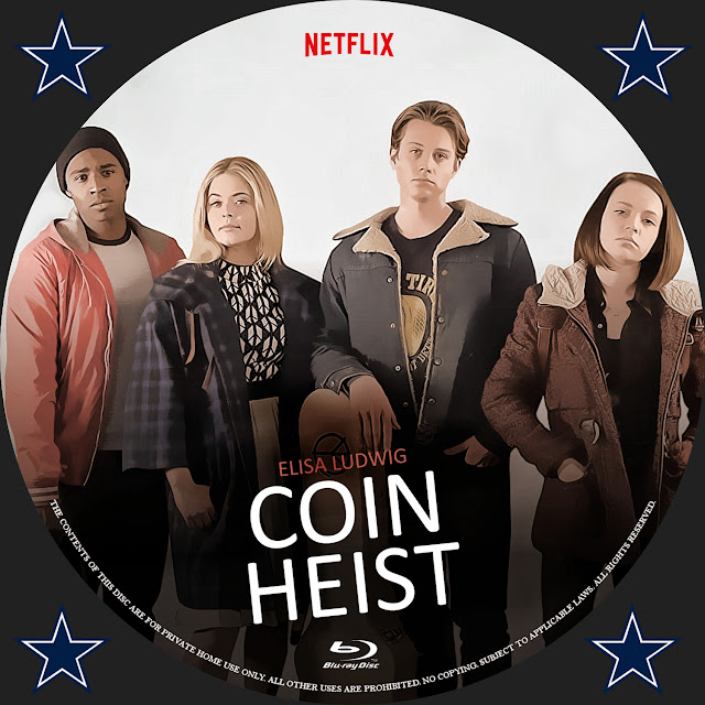 Coin Heist Bluray Label