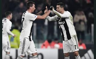 Juventus vs AS Roma 1-0 Highlights