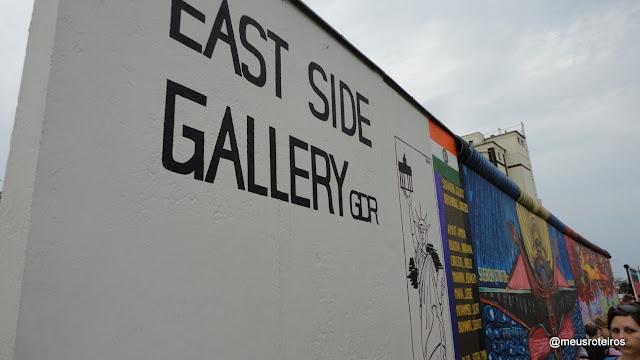 East Side Gallery - Muro de Berlim