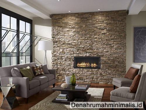 Desain Interior Rumah Modern Minimalis Dengan Batu Pualam