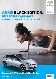 Toyota Auris Hybrid Black Edition