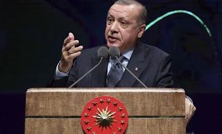 Αιχμές Ερντογάν για τη θέση της Ρωσίας σχετικά με το μέλλον της Αφρίν