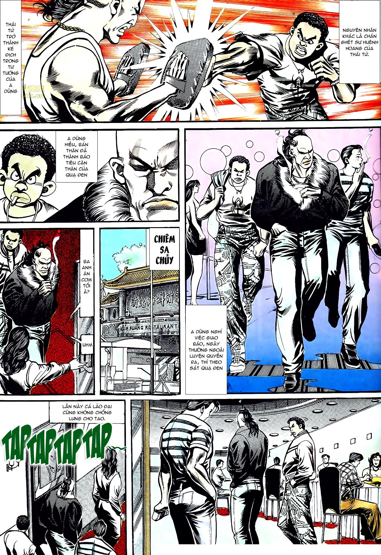 Người Trong Giang Hồ chapter 152: trăng sáng chiêm đông trang 24