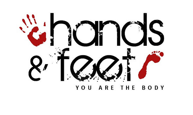 be your hands be your feet