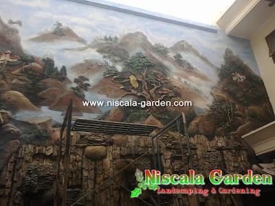 Lukisan Dinding 3D