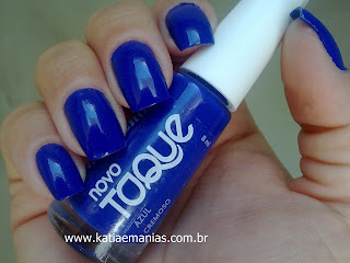 Apipila, carimbada, Novo Toque, Azul, glitter, katiaemanias, Nail Plus,