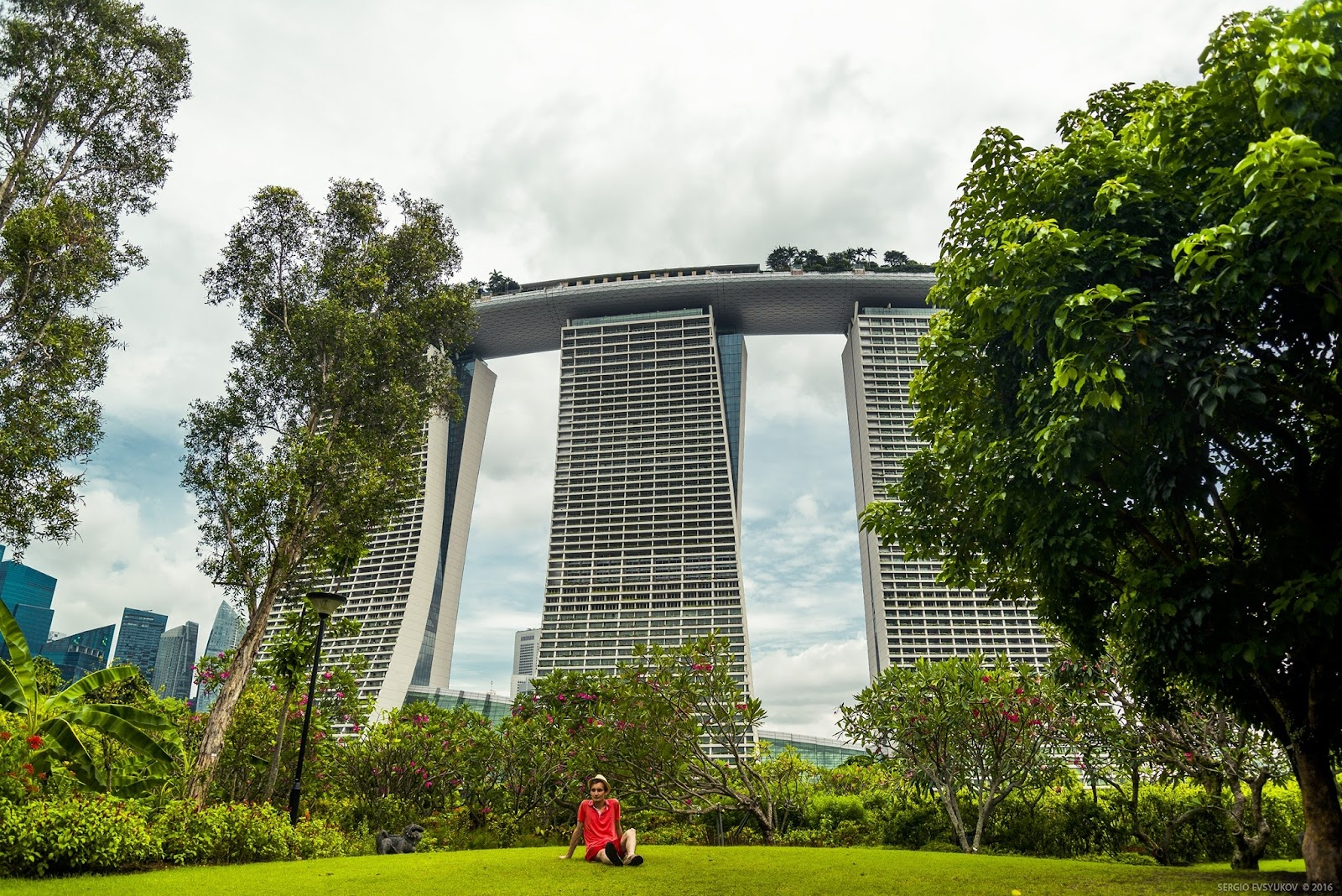 Отель Marina Bay Sands Singapore