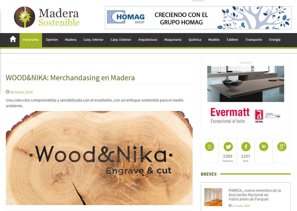 Wood Nika Publicaciones # Muebles De Madera Sostenible
