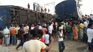 Rae Bareli: Where was the accident, the same area was displaced 3 years ago in the same train