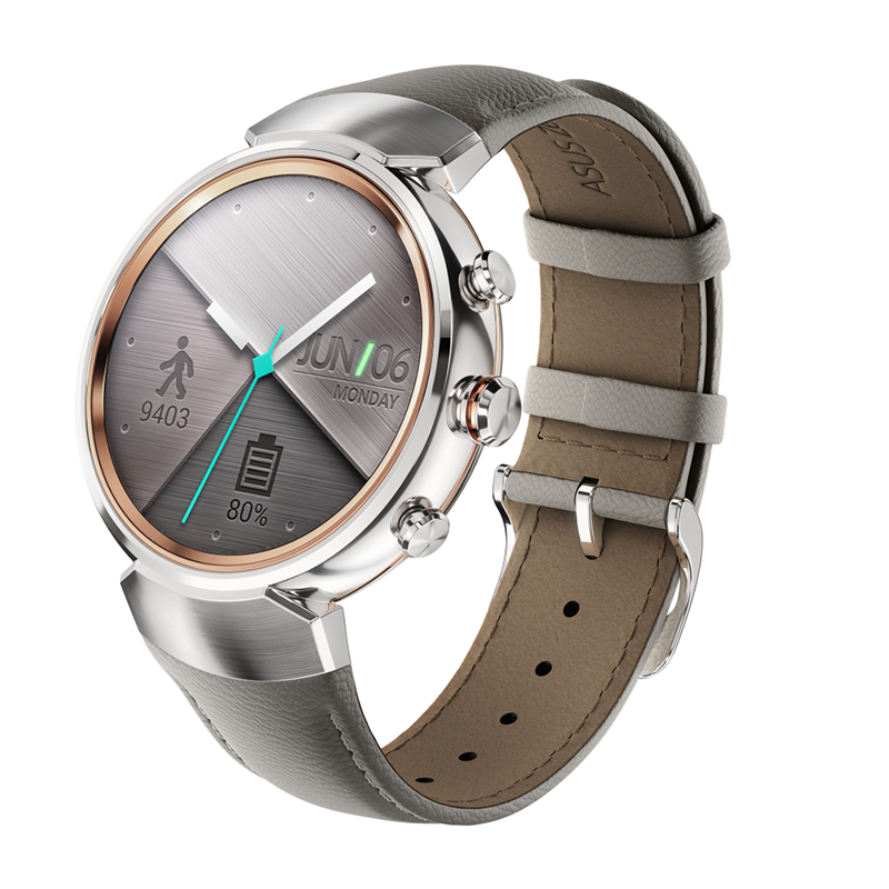 Asus ZenWatch 3 Now Official, Touts A Rounded Screen!