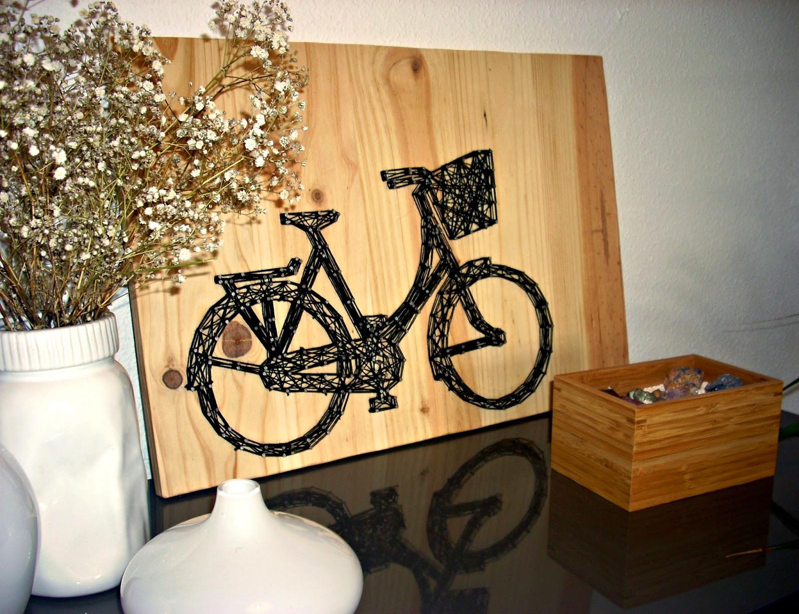 D I Y Haz Una Bicicleta Con Hilo La Buhardilla Decoraci N # Muebles Bicicleta