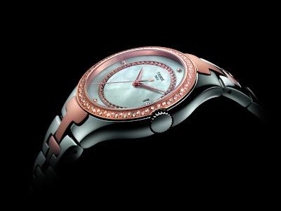 Tissot T-12 ladies diamond set watch