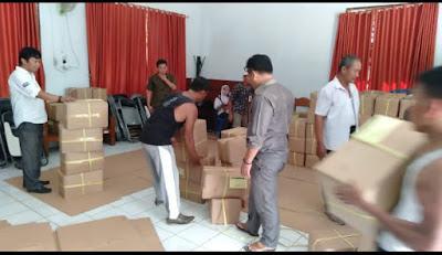 1.189 Logistik SuSu Bakal Dijaga Polisi dan TNI