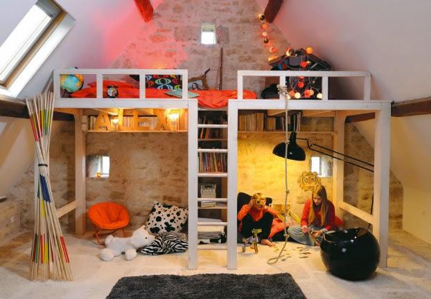 Habitación infantil divertida