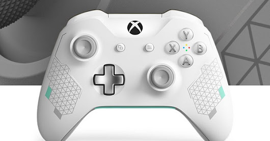 Microsoft debuts Xbox Wireless Controller - Sport White Special Edition and Controller Gear Sport White Special Edition Xbox Pro Charging Stand - Price, Availability