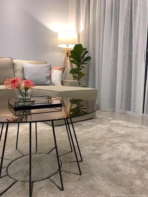 Modern Living Room Design, Meridian Interior Design