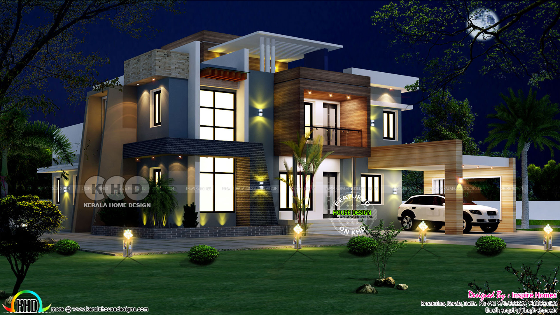 20 Lakh Home In Surat Ultra Modern House Plan With Estimated Construction Cost