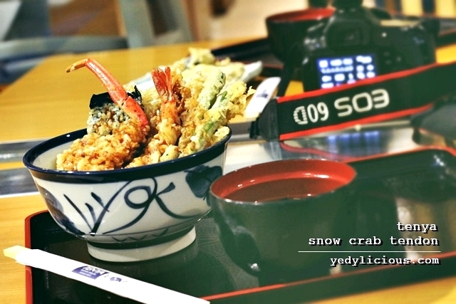 Tenya Philippines Snow Crab Tendon New Menu, Tenya Philippines Blog Review Branches Contact No Facebook Twitter Instagram, Tenya SM Megamall Market Market Bonifacio Stopover SM Southmall