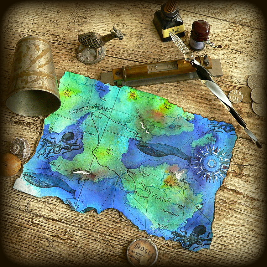 Pirate Traveller S Staff