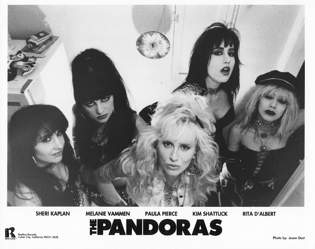 The Pandoras photo by Jason Dost, courtesy Restless Records