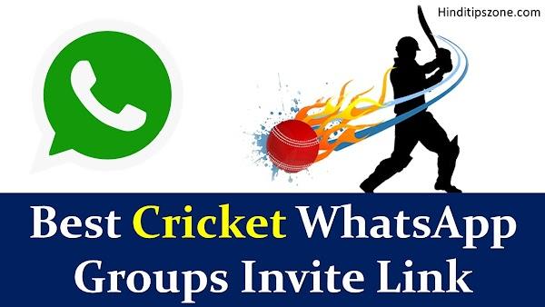 Best Cricket WhatsApp Groups Invite Link (*Updated*)