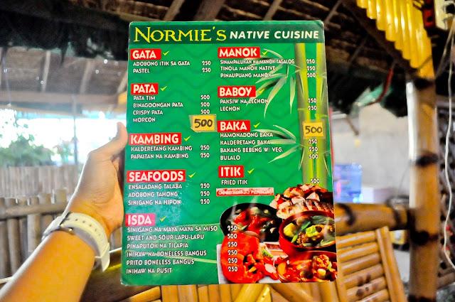 normies-menu