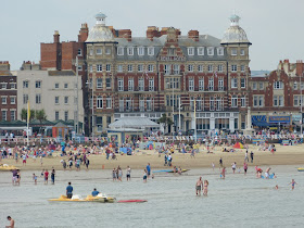 The Royal Hotel on Weymouth seafront